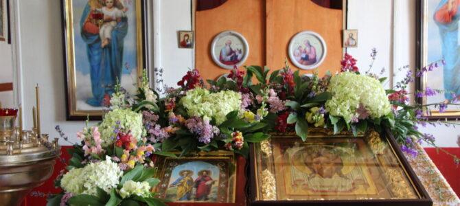 Первоверховные апостолы Петр и Павел.